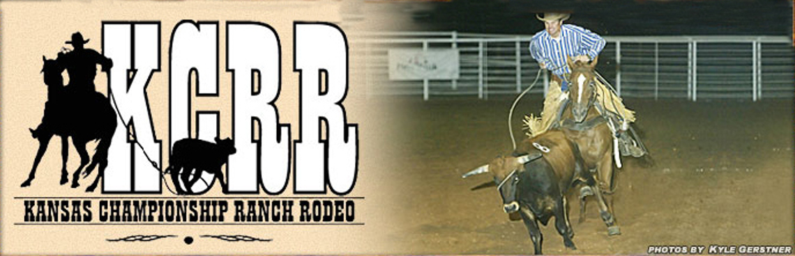 27th Annual Kansas Championship Ranch Rodeo header
