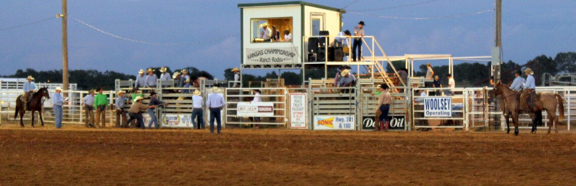 Peace Treaty's Kansas Championship Ranch Rodeo header
